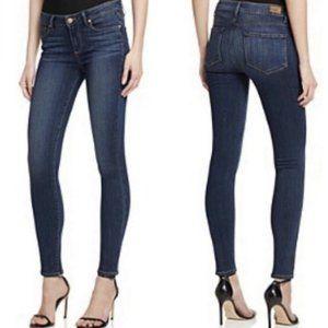 Paige Peg Skinny Ankle Crop Jeans Wash Ziggy